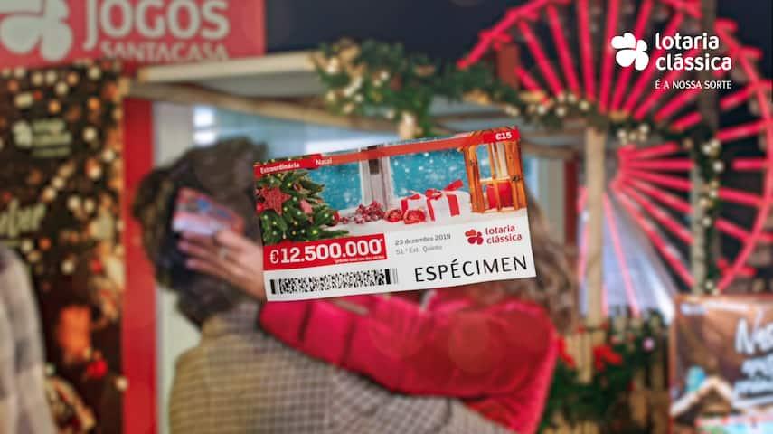 Campanha Jogos Santa Casa | Lotaria de Natal